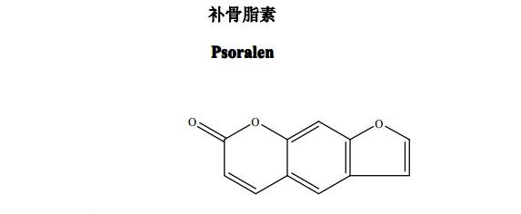 对照品分子结构图